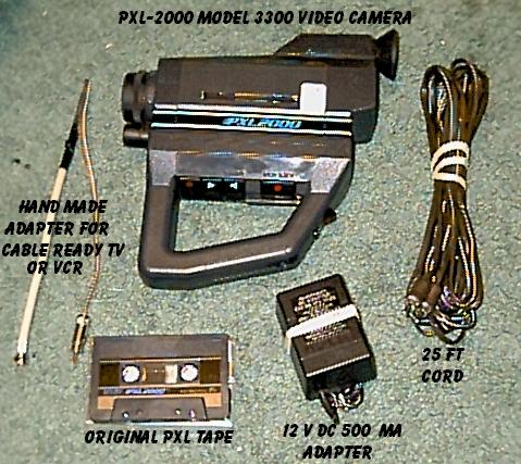 ORIGINAL PXL 2000 with accessories included
